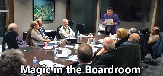 Magic in the Boardroom